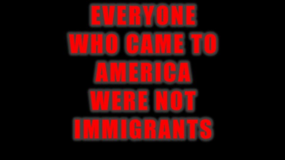 Everyone chose to come to America?
